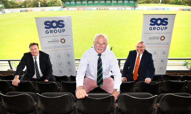 Technology group answers SOS call from football club and increases sponsorship support