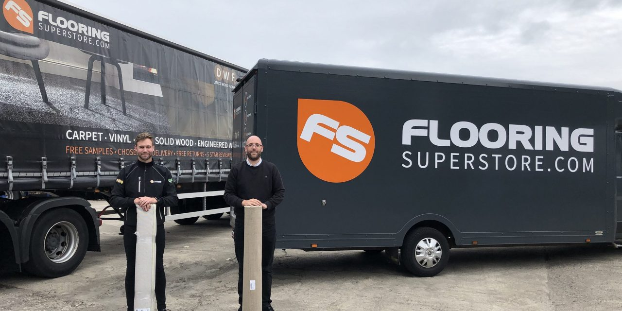 Flooring retailer supports fight against homelessness with £25,000 worth of donations