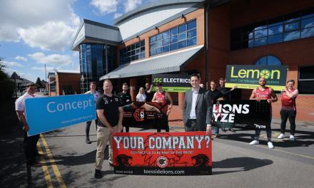 Sponsors show of support for Teesside Lions Basketball Club despite Covid era concerns