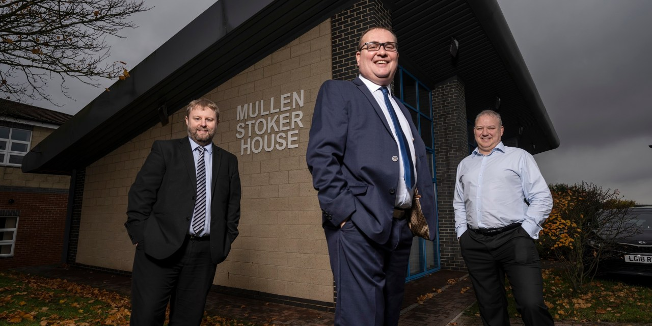 Home working boosts growth of Mullen Stoker's IT division