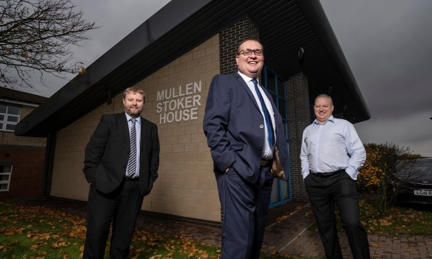 Chartered accountancy firm marks unusual 10 years in business with growth