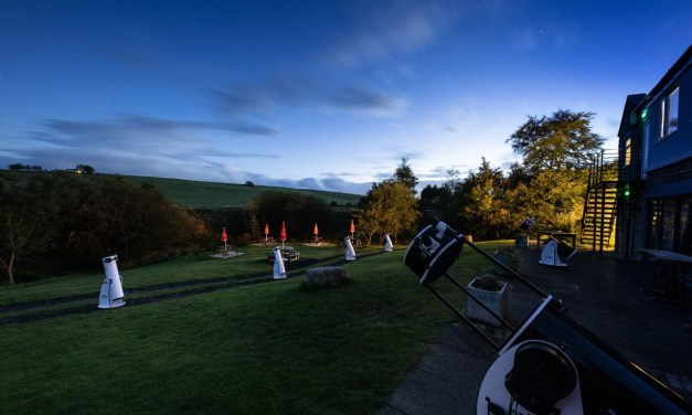 Socially distanced stargazing proving popular at Hadrian's Wall country pub
