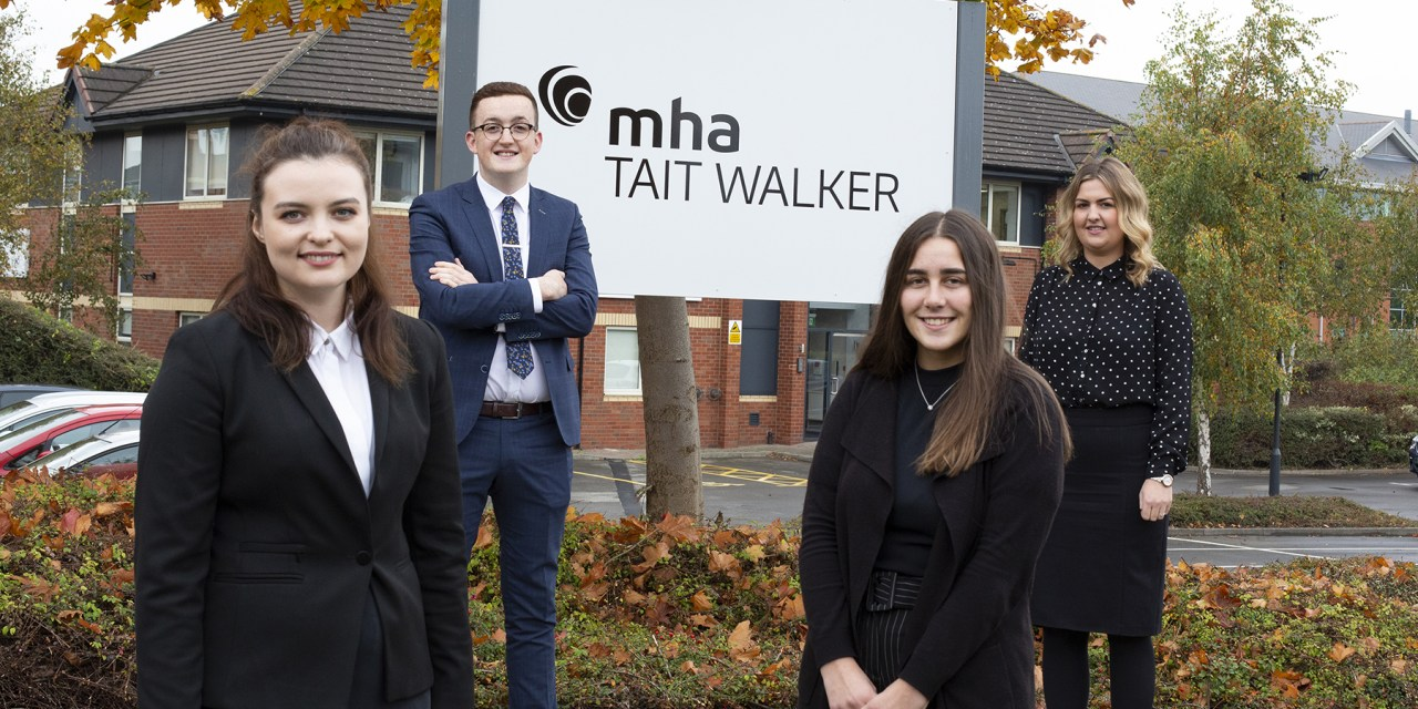 New recruits for MHS Tait Walker's Teesside office