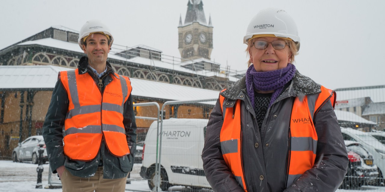Work starts on transforming historic Darlington Victorian Market into Tees Valley centrepiece