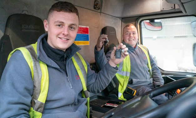 Moody Logistics uses National Apprenticeship Week to highlight value of HGV driver apprentices