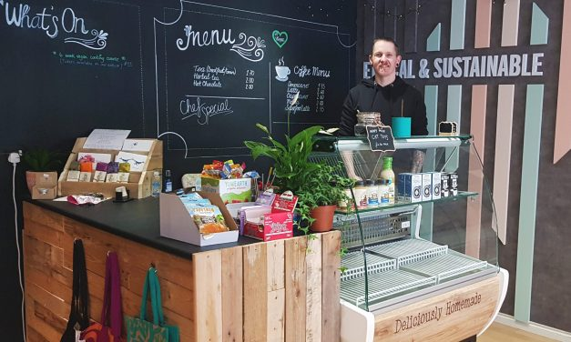 New look for environmentally-friendly food store