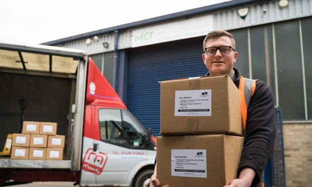 Northumberland firm joins forces with Vegetarian Society to deliver meal boxes to foodbanks