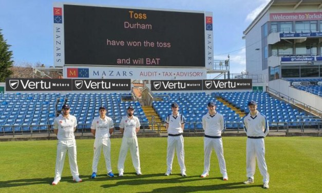 Vertu Motors signs prestigious sponsorship deals with Yorkshire and Durham County cricket clubs.