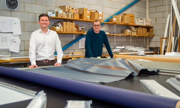 Polaris Blinds manufactures bright future after former employee takeover