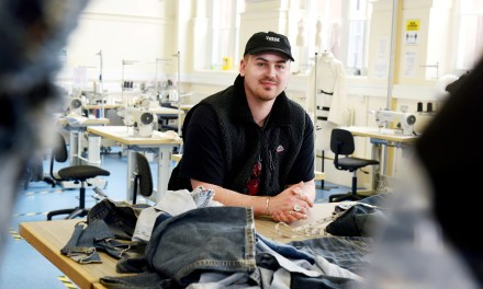 Passion for fashion leads student Harry to launch his own clothing brand