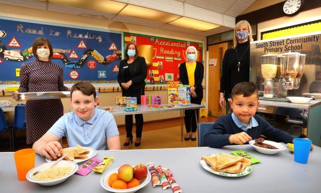 Property developer funds thousands of breakfasts for local schoolchildren