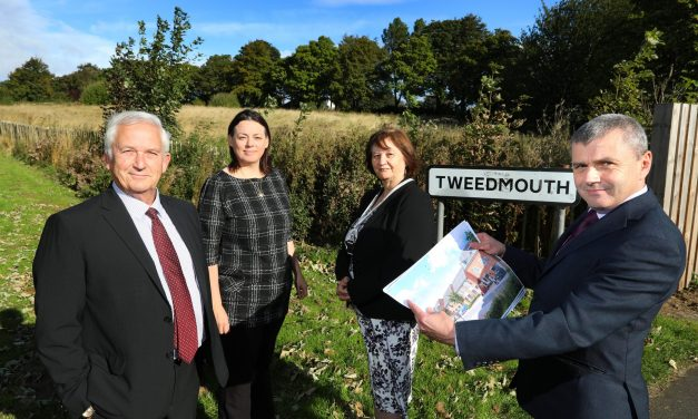 Proposals for £7m affordable housing scheme in Berwick unveiled