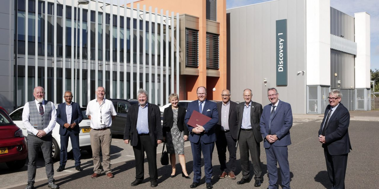 New Space Enterprise Lab opens in County Durham