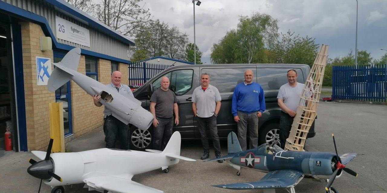 Model aeroplane manufacturer flying high as sales soar