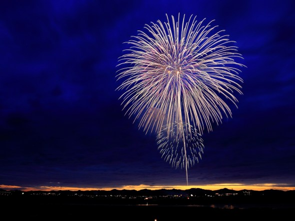 fireworks by Kazuend
