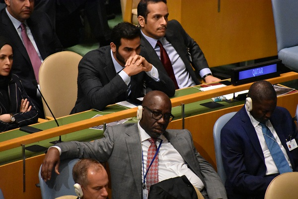 Why Governor Obaseki Dozed off at 73rd UN General Assembly—Aide