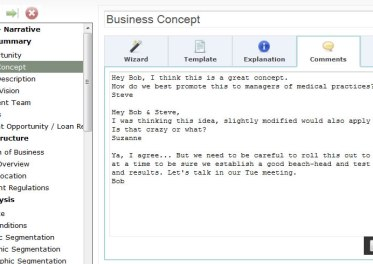 cloud business plan template collaborative