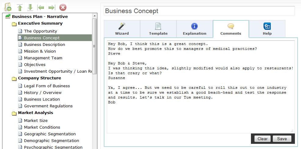 Business plan online cloud based start up software consultnats app template