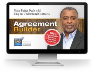 sample non-profit legal business contract templates