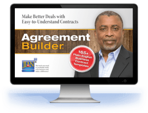 Agreement Builder sample legal business contract templates