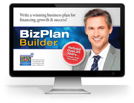 cloud-based BizPlanBuilder bizplan business plan software template online raise capital funding powerpoint excel word
