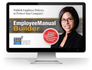 Employee Manual Builder HR polices & procedures handbook software template revised 2016