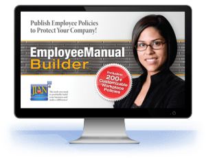 Employee Manual Builder workplace policies handbook software template cloud manual