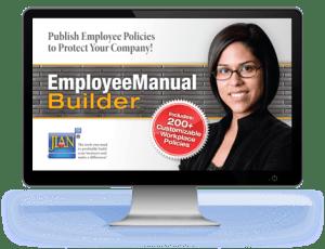 Employee Manual Builder workplace policies handbook software template cloud manual