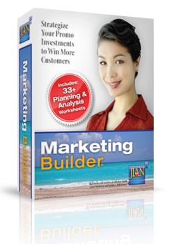 Marketing Builder strategic marketing plan software template
