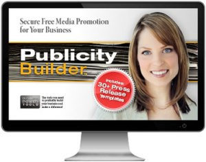 small business Public relations pr management software with sample press release templates