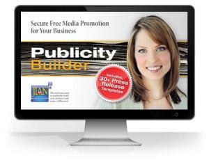 Publicity-Builder public relations pr management software template plus sample press release templates