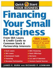 Write a business plan, then read this book on financing your small business