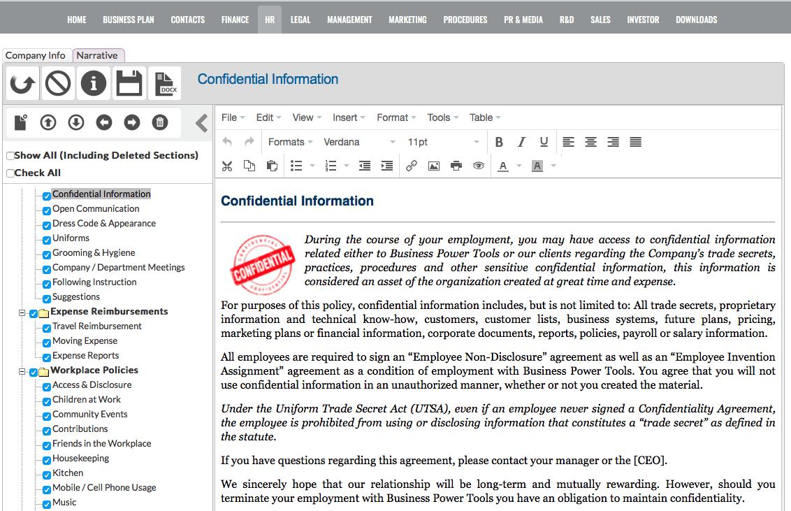 Employee handbook software template 2018 mac windows web employee policies handbook software template app accmission Gallery