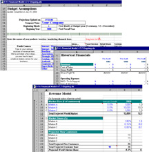 10 year business plan financial projection excel template