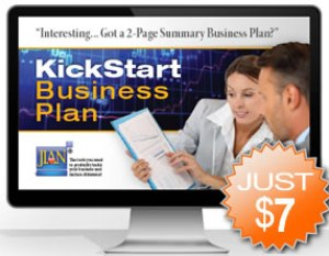summary business plan software template app for investors