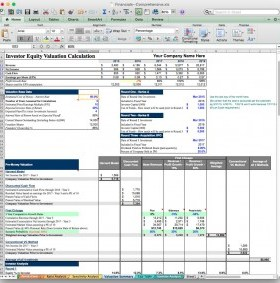 jian business plan financial projection software excel template valuation