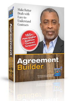 Box image Agreement Builder sample business contract template