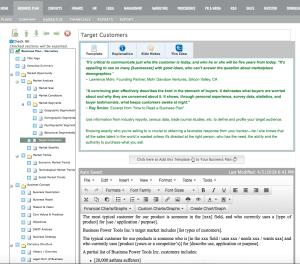 screen omage bizplan builder non-profit strategy business plan software template