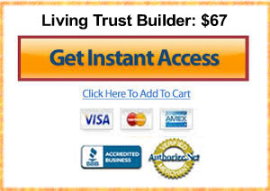 living trust builder estate plan planning template software app update