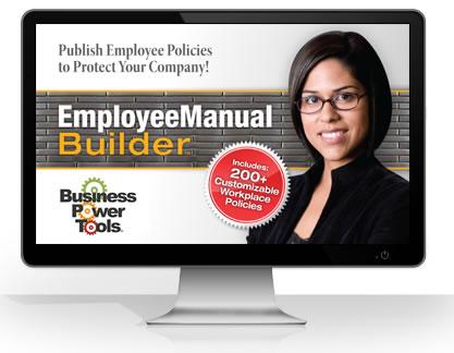 Employee policies handbook software template shrm