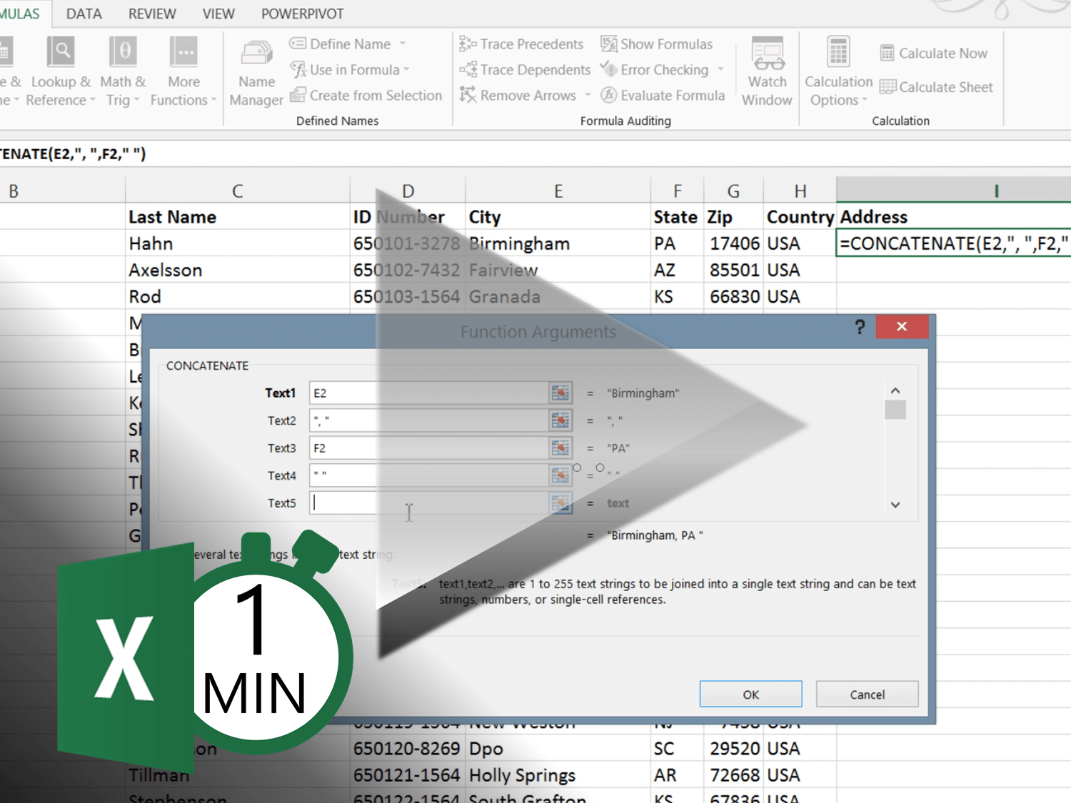 How To Combine Text Into One Column In Excel