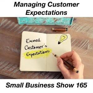 managing customer expectations
