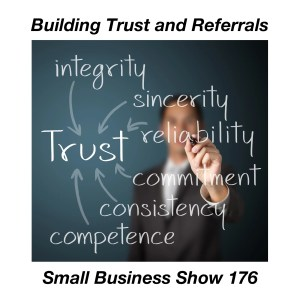 building trust and referrals for small business