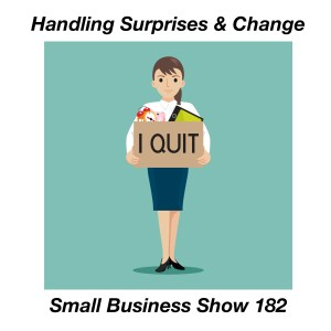 handling surprises and change small business
