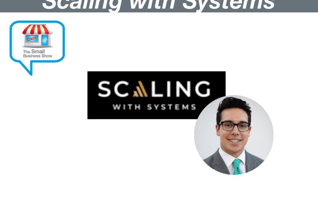 Ravi Abuvala Founder of Scaling with Systems – Small Business Show Episode 274