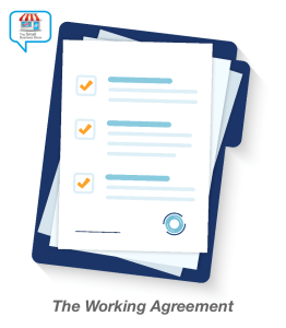Small Business Show Working Agreement icon