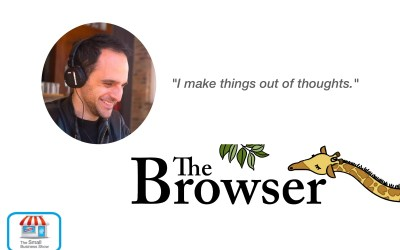 Uri Bram CEO of The Browser – Small Business Show Episode 298