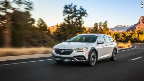 The Buick Regal TourX isn't really an SUV but it's a little more than just a wagon.