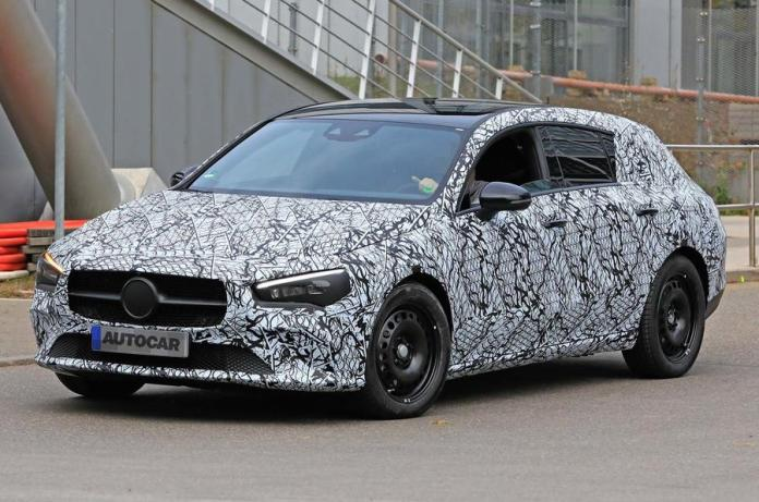 New 2019 Mercedes Benz Cla Teased Ahead Of Ces Reveal