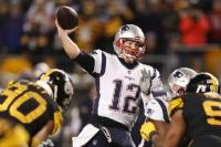 New England Patriots quarterback Tom Brady passes the ball during Sunday's loss to the Steelers in Pittsburgh. 	AP PHOTOSentinel and Enterprise staff